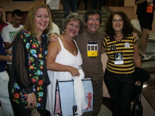 Aurora, Arly, Bertrand e Rosário