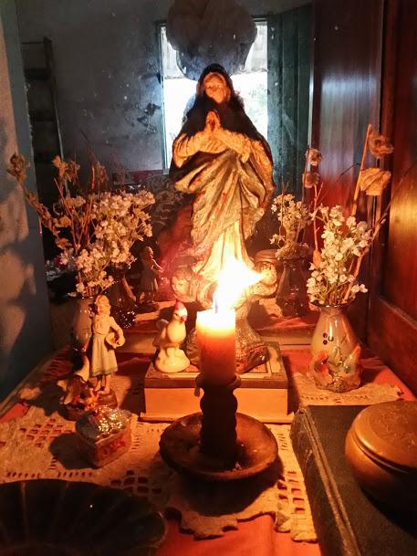 Doninha altar